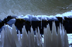 Ice structure Stock Photos