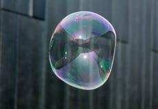 The transparent, iridescent soap bubbles Stock Image
