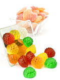 Transparent jelly beans Royalty Free Stock Photography