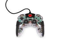 Transparent joystick for games Stock Images