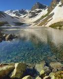 Transparent lake Stock Images