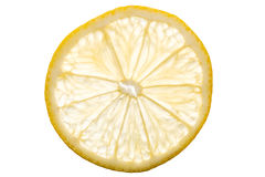 Transparent Lemon Slice Royalty Free Stock Photo