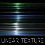 Transparent linear texture on a black Stock Images