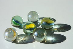 Transparent Marbles Royalty Free Stock Photo