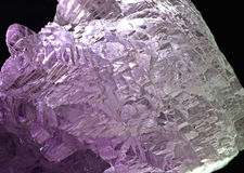 Transparent mineral Royalty Free Stock Image