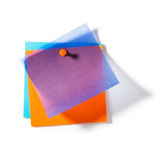 Transparent Notepads Royalty Free Stock Photography