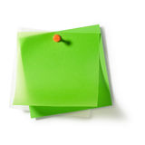 Transparent Notepads Stock Image