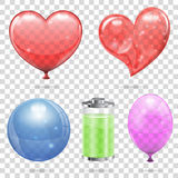 Transparent Objects Royalty Free Stock Photos