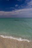 Transparent ocean shore Stock Photography
