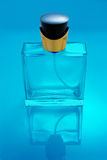 Transparent Perfume bottle isolated Royalty Free Stock Photography