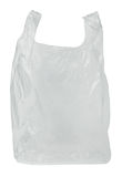 Transparent plastic bag Royalty Free Stock Photo