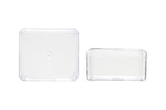 Transparent Plastic Container Stock Photography