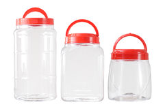 Transparent Plastic Container Royalty Free Stock Image