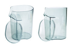 Transparent plastic containers Royalty Free Stock Photos