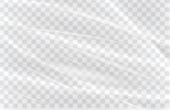 Transparent plastic warp Stock Images