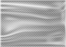 Transparent Polyethylene Plastic Warp. Vector illustration. vector illustration