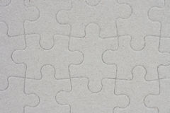 Transparent puzzle Stock Images