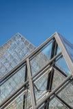 Transparent pyramids Stock Images