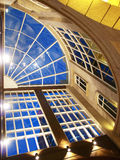 Transparent roof. Of shopping mall Royalty Free Stock Photo
