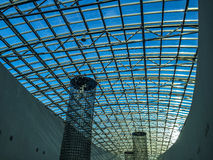 Transparent roof Stock Photography