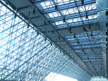 Transparent rooftop. Of modern building Royalty Free Stock Photography