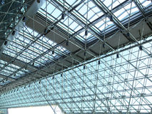 Transparent rooftop. Of modern building Royalty Free Stock Photo