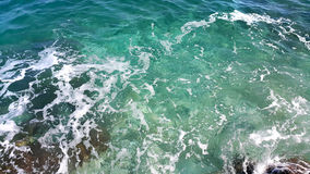 Transparent sea water background Stock Image