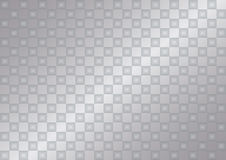Transparent silver background. Silver gradient background of small transparent squares Stock Images