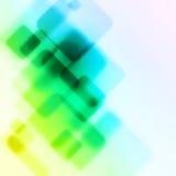 Transparent squares Royalty Free Stock Image