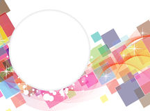Transparent squares background Royalty Free Stock Photo