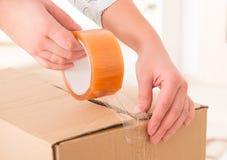 Transparent tape Royalty Free Stock Photo