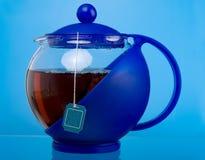 Transparent teapot Stock Photos