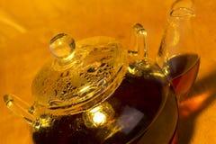 Transparent teapot Stock Photography