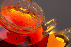 Transparent teapot Royalty Free Stock Photography