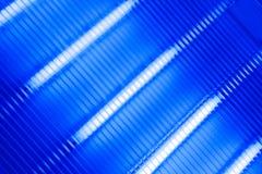 Transparent ultraviolet lamp panel Stock Photos
