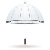 Transparent umbrella Stock Photo