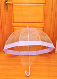 Transparent umbrella Royalty Free Stock Photo