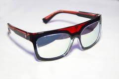 Transparent unisex glasses Stock Photo
