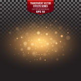 Transparent Vector Effects Series.  Stock Images