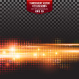 Transparent Vector Effects Series. Easy Royalty Free Stock Images