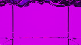 Transparent violet paint fills screen, alpha channel included like luma matte. 3d render 1.  stock video footage