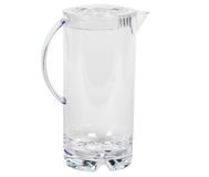 Transparent water decanter Royalty Free Stock Photography