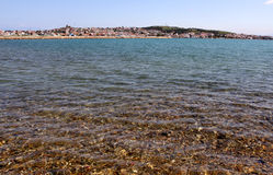 Transparent waters of Mediterranean Royalty Free Stock Images