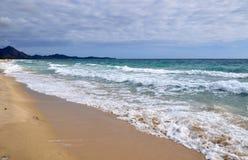 Transparent waters in Sardinia Stock Photo