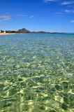 Transparent waters in Sardinia Royalty Free Stock Images