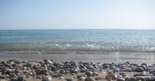 Transparent waves Stock Photo