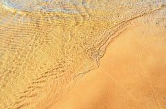 Transparent waves Stock Images