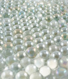 Transparente Bälle als abstrakter Hintergrund stockfotos