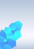 Transparente bunte Fliesen auf Hintergrund Stockfotografie