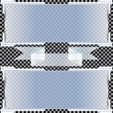 Transparente Fahnen Auch im corel abgehobenen Betrag Lizenzfreie Stockbilder